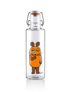 soulbottle • Trinkflasche aus Glas • Sendung mit der Maus - soulbottles