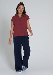 Damen Kurzarmbluse aus EcoVero | EcoVero Blouse Shortsleeve - recolution