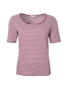 Kurzarmshirt aus 100% Bio-Baumwolle 'Breton Shirt' - Alma & Lovis
