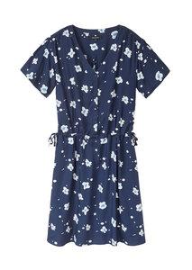 Frauen Kleid aus EcoVero mit Blumenprint | EcoVero Dress #FLOWERS - recolution
