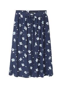 Frauen Rock aus EcoVero mit Blumenprint | EcoVero Skirt #FLOWERS - recolution
