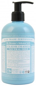 Shikakai Seife Neutral Mild - Dr. Bronner's