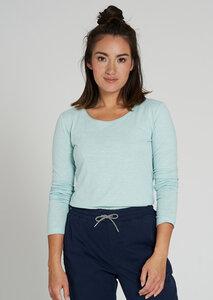 Damen Langarmshirt aus Baumwolle (Bio) | Basic Longsleeve - recolution