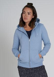 Frauen Kapuzenjacke aus Bio Baumwolle   Basic Sweatjacket - recolution