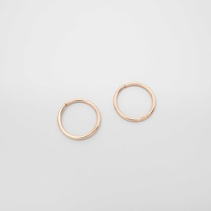 Creole 'shiny mini hoops' - fejn jewelry