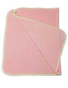Lotties Babydecke aus Bio Baumwolle rosa Mädchen 95 x 60 cm - Lotties