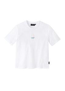Print Damen T-Shirt #SAILINGBOAT aus Baumwolle (Bio)   Classic T-Shirt #SAILINGBOAT - recolution