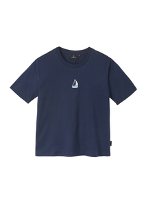Print Damen T-Shirt #SAILINGBOAT aus Baumwolle (Bio) | Classic T-Shirt #SAILINGBOAT - recolution