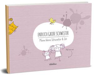 """Geschenk zur Geburt für große Schwester: """"Das kleine Schwester + große Schwester-Buch"""" - dabelino"""