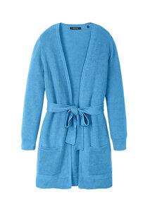 Damen Strickjacke aus Bio Baumwolle | Rib Knit Cardigan - recolution