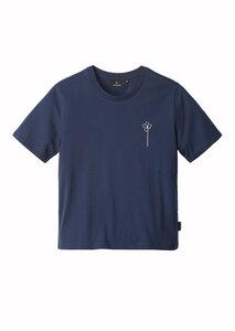 Print Damen T-Shirt #FLOWER aus Baumwolle (Bio) | Classic T-Shirt #FLOWER - recolution
