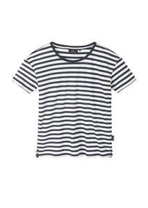 Gestreiftes Damen T-Shirt aus Tencel und Baumwolle (Bio) | Tencel T-Shirt #STRIPES - recolution
