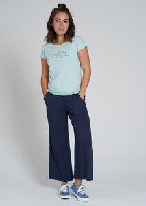 Print Damen T-Shirt #DOLPHIN aus Baumwolle (Bio)   Casual T-Shirt #DOLPHIN - recolution