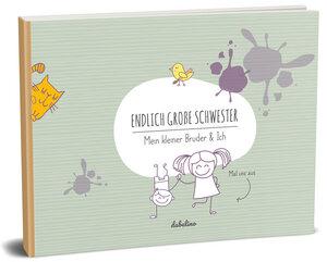 """Geschenk zur Geburt für große Schwester: """"Das kleiner Bruder + große Schwester-Buch"""" - dabelino"""