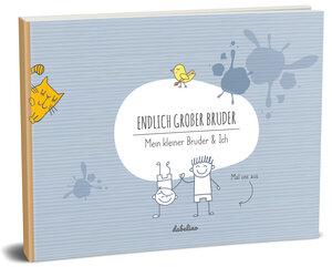 """Geschenk zur Geburt für den großen Bruder: """"Das kleine Bruder + großer Bruder-Buch"""" - dabelino"""