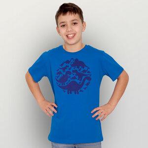 """""""Dinos"""" Unisex Kinder T-Shirt - HANDGEDRUCKT"""