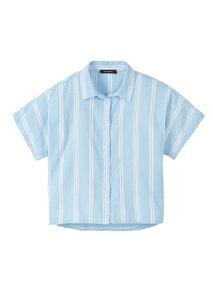 Damen Bluse aus Leinen und Bio Baumwolle | Blouse #STRIPES - recolution