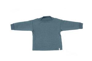 """Kinder Sweatshirt aus Bio-Baumwolle """"Highneck-Sweater"""" unifarben - Umii"""