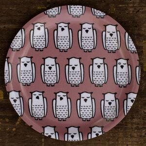 """Coasters / Minitablett """"Schwedensommer"""" aus Birkenfurnier - Cmig"""