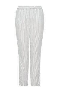 Gestreifte Hose aus Bio-Baumwolle - NINA REIN