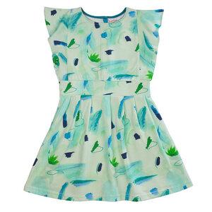 Baba Kidswear Mädchen Kleid seaworld grün - Baba Kidswear