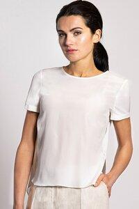Shirtbluse aus Bio-Seide - NINA REIN