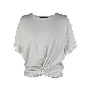 "Damen T-Shirt aus Bio-Baumwolle ""Twisted Shirt "" - Flying Love Birds"