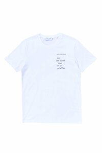 T-Shirt Loveletters aus Bio-Baumwolle (oversized) - NINA REIN