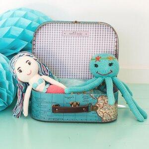 Geschenk für Geschwister zur Geburt: Oktopus und Meerjungfrau - Chill n Feel