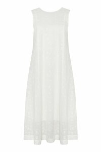 Besticktes Kleid aus Bio-Baumwolle - NINA REIN