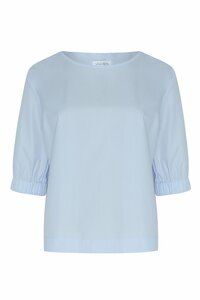 Shirtbluse aus Bio-Baumwolle - NINA REIN