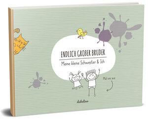 """Geschenk zur Geburt für den großen Bruder: """"Das kleine Schwester + großer Bruder-Buch"""" - dabelino"""