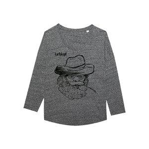 FARMER Bedrucktes Damen T-Shirt -langarm- aus Bio-Baumwolle - karlskopf