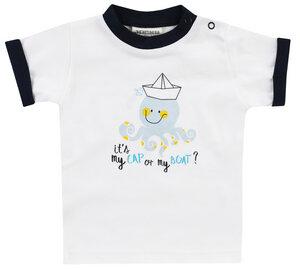 """Babys und Kinder Kurzarmshirt Jacky Baby """" Its my cap """" 100%Baumwolle ( bio) Jungen - Jacky Baby"""