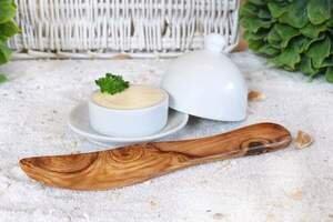 Buttermesser aus Olivenholz - Olivenholz erleben
