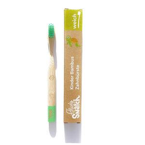 Bambus Zahnbürste für Kinder weich - Powdy & Snatch