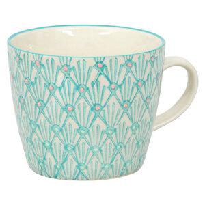 Tasse aus Steinzeug mit liebevollem Aufdruck 275 ml - TRANQUILLO