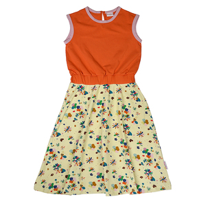 Baba Kidswear Maxikleid flower fields Bio-Baumwolle - Baba Kidswear