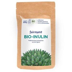 Bio Inulin - präbiotischer Ballaststoff (400 g) - Fairment