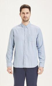 Hemd aus Tencel - LARCH casual fit tencel - KnowledgeCotton Apparel