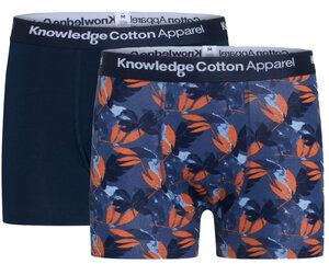 2er Pack Boxershorts - MAPLE  leaf - aus Bio-Baumwolle - KnowledgeCotton Apparel