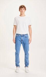 Jeans Tapered Fit- ASH light blue denim - KnowledgeCotton Apparel
