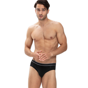 Re:Think Herren Slip Bio-Baumwoll Unterhose (mit Spruch) GRÜNER KNOPF 71141 - Mey