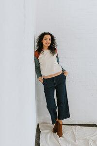Jeans Culotte - frankie & lou organic wear