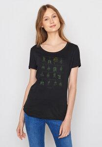 Damen Shirt 100% Biobaumwolle Animal Sloth Plants Loves - GreenBomb