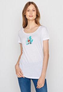 Damen Shirt 100% Biobaumwolle Animal Birdie Loves - GreenBomb
