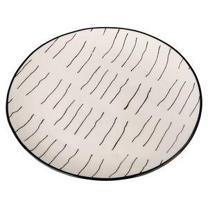 Teller Ethno aus Steingut 3 Varianten 20 cm - TRANQUILLO