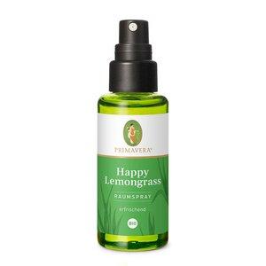 Primavera Raumspray Happy Lemongrass 50ml - Primavera