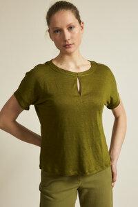 Shirt GOTS aus Bio-Leinen - LANIUS