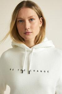 Sweatshirt mit Stickerei aus Bio-Baumwolle mit TENCEL Lyocell - LANIUS